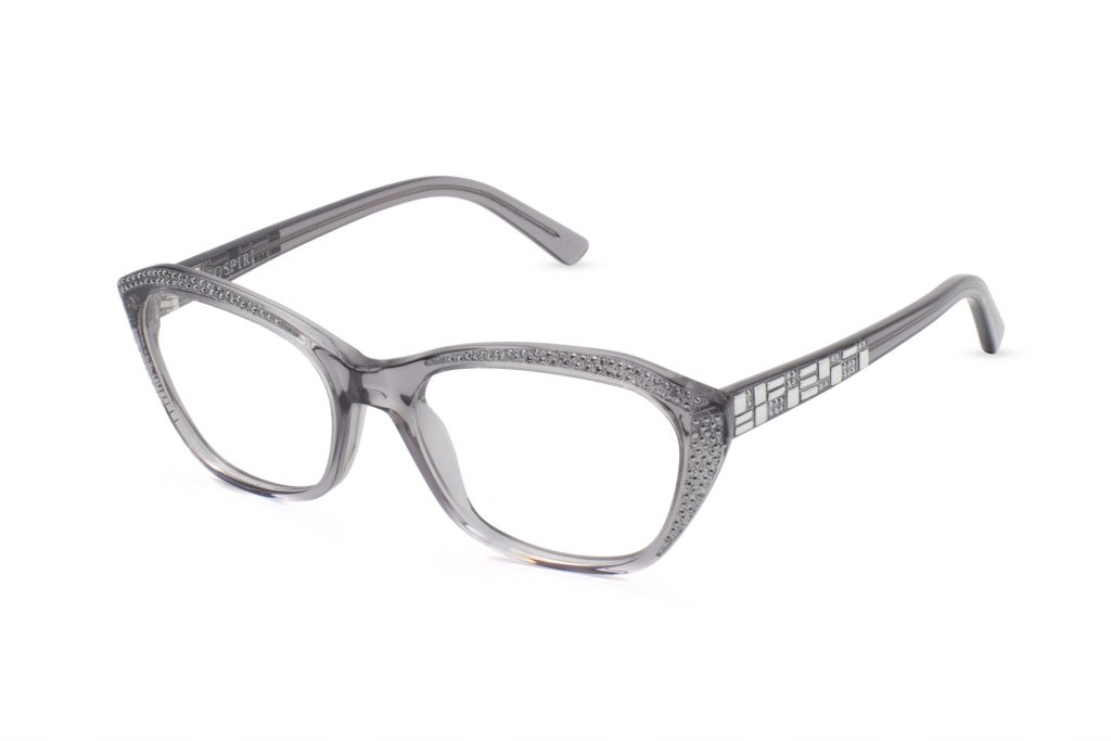 Fina c.882 – Translucent grey with light chrome crystals