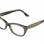 NUNZIA   c.627 – Tortoise with smoked topaz and black crystals