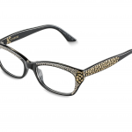NUNZIA c.NRG – Black with gold and rose gold crystals