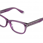 STEFANIA  c.839 – Translucent purple with ametyst and clear crystals